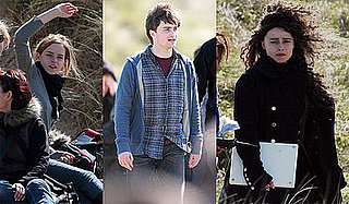Photos of Daniel Radcliffe, Emma Watson, Helena Bonham Carter on the Set of Harry Potter and the Deathly Hallows