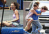 Photos Natalie Portman, Who's Rumored to Be Dating Sean Penn, Filming Hesher in LA