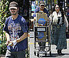 Photos of Shia LaBeouf and His Mom Grocery Shopping in LA