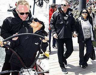 Photos of Salma Hayek and Francois-Henri Pinault in Boston