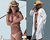 Hayden Gets Wild in Her Bikini With Her New Man