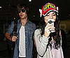 Photo Slide of Vanessa Hudgens and Zac Efron at LAX