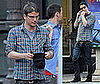 Josh Hartnett Flosses After Dinner