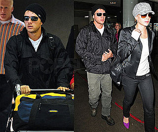 Photos of Ryan Phillippe and Abbie Cornish at LAX
