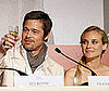 Photo Slide of Brad Pitt and Diane Kruger at an Inglourious Basterds Press Conference in Cannes