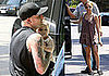 Nicole, Joel and Harlow in LA