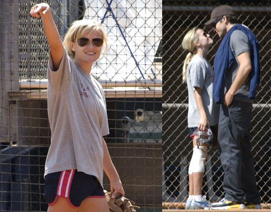 Reese and Jake Play Ball