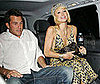 Photo Slide of Paris Hilton and Doug Reinhardt In a London Taxi