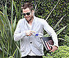 Photo Slide of Chris Pine Leaving an Acting Class in LA