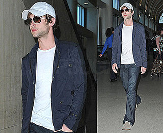 Photos of Chace Crawford at LAX