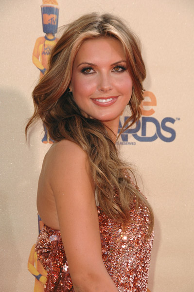Audrina at the MTV Movie Awards