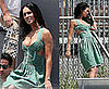 Photos of Megan Fox Doing a Photo Shoot in LA