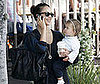 Slide Photo of Jessica Alba and Honor in LA