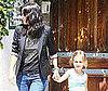 Photo Slide of Courteney Cox and Coco in LA