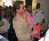 Photo Slide of Tom and Suri CRuise at the Smithsonian National Air and Space Museum in DC