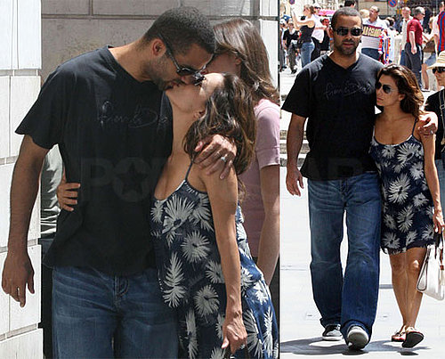 Photos of Eva Longoria and Tony Parker Enjoying a Romantic Vacation in Rome