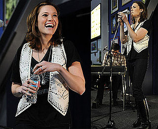 Photos of Mandy Moore Performing at Amoeba