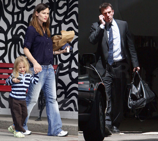 Jen, Violet and Ben in Boston