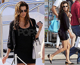 Photos of Eva Longoria Shopping in St Tropez