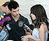Photo Slide of Selena Gomez and Taylor Lautner Together