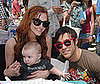 Photo Slide of Ashlee Simpson and Pete Wentz with Bronx at the Elizabeth Glaser Pediatric AIDS Foundation Celebrity Carnival