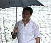 Photo Slide of Johnny Depp Filming The Rum Diary