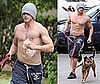 Kellan Runs With his Dog