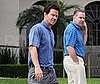 Photo Slide of Mark Wahlberg Leaving Church in LA