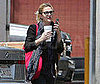 Photo Slide of Drew Barrymore Heading to a Studio in LA
