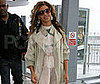 Photo Slide of Beyonce Knowles at Heathrow