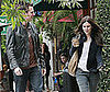 Slide Photo of Rachel Bilson Out to Lunch With a Friend in Studio City