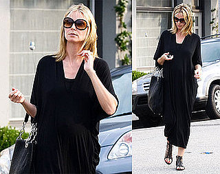 Photos of Pregnant Heidi Klum Leaving an LA Salon
