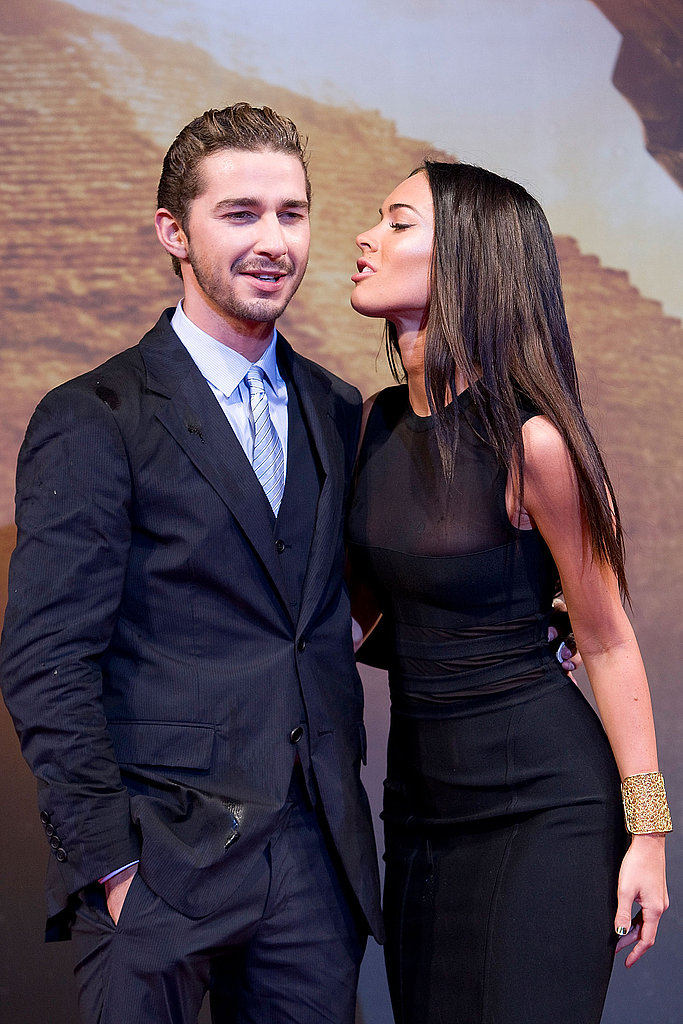 Shia and Megan Premiere in South Korea