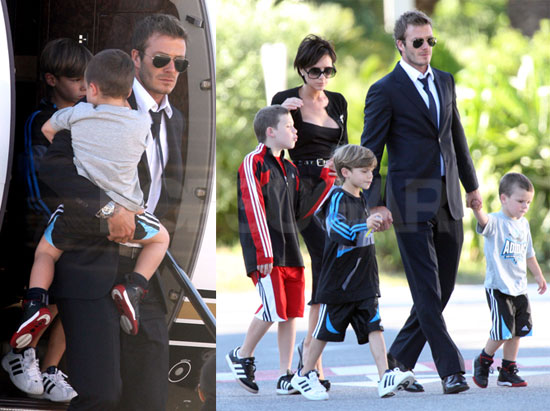 Beckhams Land in France