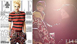 Photos and Quotes of Gwen Stefani and Zuma Rossdale in Elle Magazine