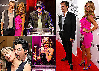 Photos of Adam Lambert, Bar Refaeli, Catherine Hardwicke, Ed Westwick, Twilight's Kellan Lutz at the Young Hollywood Awards