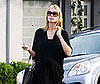 Photo Slide of Pregnant Heidi Klum Leaving an LA Salon