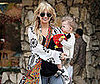 Slide Photo of Nicole Richie and Harlow Toy Shopping in Santa Monica