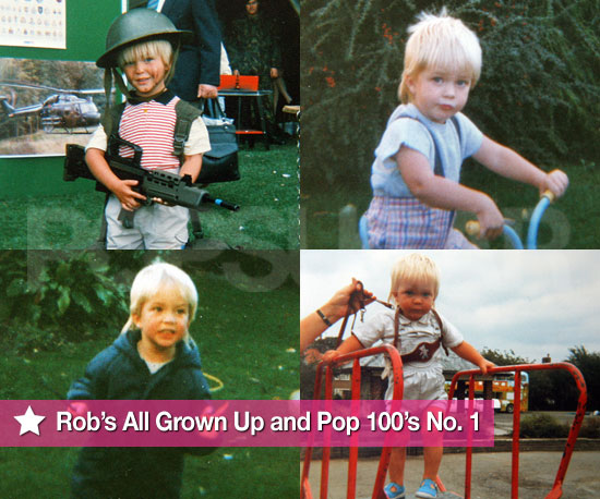 Slideshow of Childhood Photos of Robert Pattinson