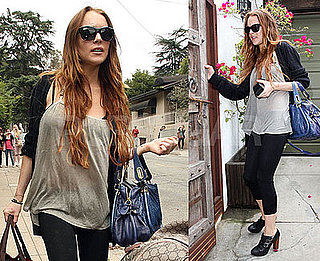 Photos of Lindsay Lohan Leaving Samantha Ronson's House in LA 2009-06-10 07:45:00
