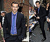 Video of Ryan Reynolds on Late Night With David Letterman