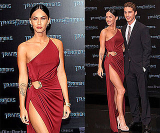 Photos of Megan Fox and Shia LaBeouf at Transformers 2 Germany Premiere, Megan Said She's Single