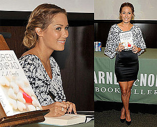 Photos of Lauren Conrad at Book Signing in LA, Video of Lauren Conrad on The Tonight Show With Conan O'Brien