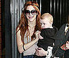 Photo Slide of Ashlee Simpson and Bronx Wentz in LA