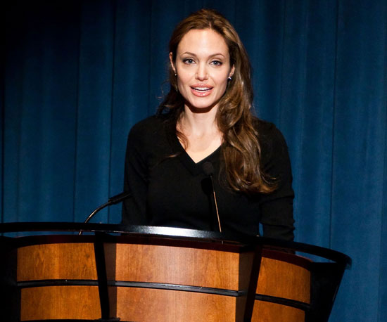 Condensed Sugar: Angelina Goes to Washington