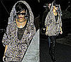Rihanna in Leopard