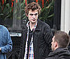 Photo of Robert Pattinson Filming Remember Me