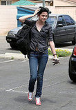 Kristen Stewart Leaves the Studio