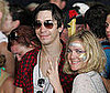 Photo Slide of Drew Barrymore and Justin Long at Bonnaroo