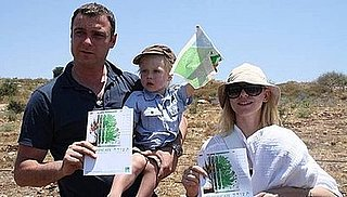 Sugar Shout Out: Naomi and Liev Plant Trees in Israel